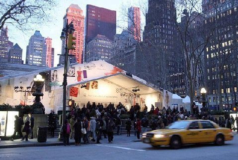 Bryant Park Tents - New York Fashion Week